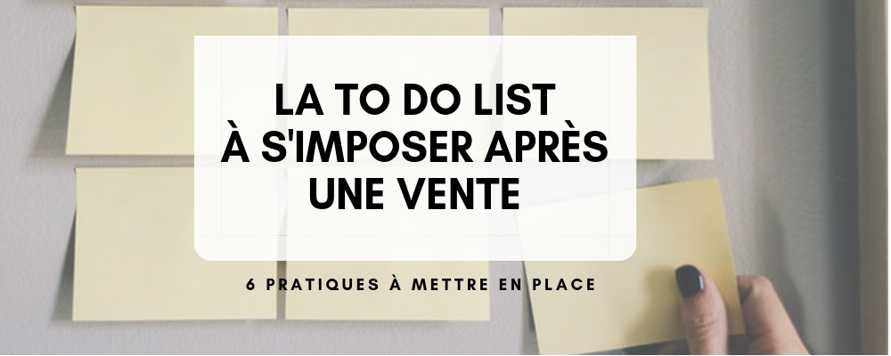 To do list vente